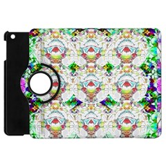 Nine Little Cartoon Dogs In The Green Grass Apple Ipad Mini Flip 360 Case by pepitasart