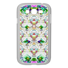 Nine Little Cartoon Dogs In The Green Grass Samsung Galaxy Grand Duos I9082 Case (white) by pepitasart