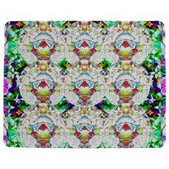 Nine Little Cartoon Dogs In The Green Grass Jigsaw Puzzle Photo Stand (rectangular) by pepitasart