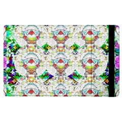 Nine Little Cartoon Dogs In The Green Grass Apple Ipad Pro 12 9   Flip Case by pepitasart