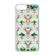 Nine Little Cartoon Dogs In The Green Grass Apple Iphone 8 Plus Seamless Case (white) by pepitasart