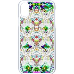 Nine Little Cartoon Dogs In The Green Grass Apple Iphone X Seamless Case (white) by pepitasart
