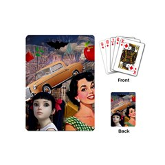 Out In The City Playing Cards (mini)  by snowwhitegirl