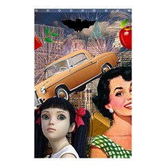 Out In The City Shower Curtain 48  X 72  (small)  by snowwhitegirl