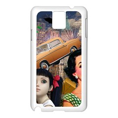 Out In The City Samsung Galaxy Note 3 N9005 Case (white) by snowwhitegirl