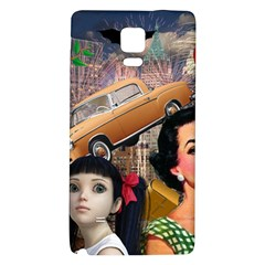 Out In The City Galaxy Note 4 Back Case by snowwhitegirl