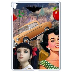 Out In The City Apple Ipad Pro 9 7   White Seamless Case by snowwhitegirl