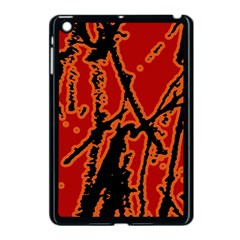 Vivid Abstract Grunge Texture Apple Ipad Mini Case (black) by dflcprints