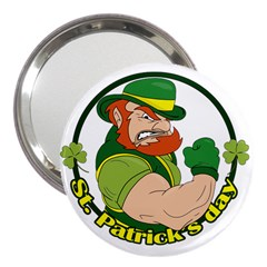 St  Patricks Day 3  Handbag Mirrors