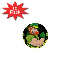 St  Patricks Day 1  Mini Magnet (10 Pack)  by Valentinaart