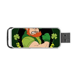 St  Patricks Day Portable Usb Flash (two Sides) by Valentinaart