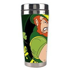 St  Patricks Day Stainless Steel Travel Tumblers by Valentinaart