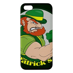 St  Patricks Day Iphone 5s/ Se Premium Hardshell Case by Valentinaart
