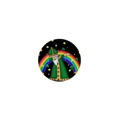 St  Patrick  Dabbing 1  Mini Buttons by Valentinaart