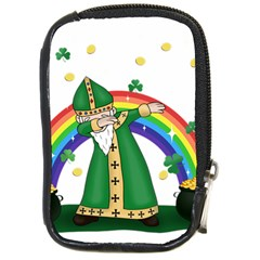 St  Patrick  Dabbing Compact Camera Cases by Valentinaart