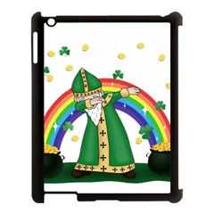 St  Patrick  Dabbing Apple Ipad 3/4 Case (black)