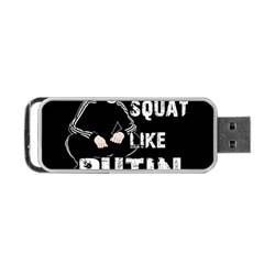 Squat Like Putin Portable Usb Flash (two Sides) by Valentinaart