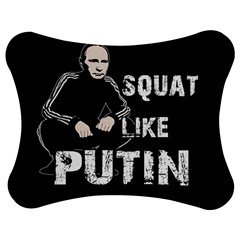 Squat Like Putin Jigsaw Puzzle Photo Stand (bow) by Valentinaart