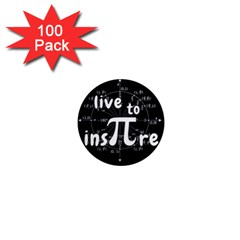 Pi Day 1  Mini Magnets (100 Pack)  by Valentinaart