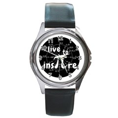 Pi Day Round Metal Watch by Valentinaart