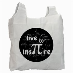 Pi Day Recycle Bag (two Side)  by Valentinaart