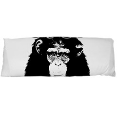 Stop Animal Abuse   Chimpanzee  Body Pillow Case Dakimakura (two Sides) by Valentinaart