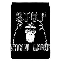 Stop Animal Abuse   Chimpanzee  Flap Covers (l)  by Valentinaart
