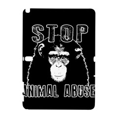 Stop Animal Abuse   Chimpanzee  Galaxy Note 1 by Valentinaart