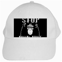 Stop Animal Abuse   Chimpanzee  White Cap by Valentinaart