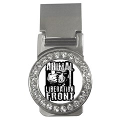 Animal Liberation Front   Chimpanzee  Money Clips (cz)  by Valentinaart