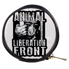 Animal Liberation Front   Chimpanzee  Mini Makeup Bags
