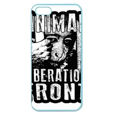 Animal Liberation Front   Chimpanzee  Apple Seamless Iphone 5 Case (color) by Valentinaart
