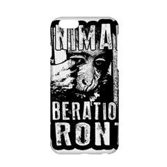 Animal Liberation Front   Chimpanzee  Apple Iphone 6/6s Hardshell Case by Valentinaart