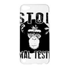 Stop Animal Testing   Chimpanzee  Apple Ipod Touch 5 Hardshell Case by Valentinaart