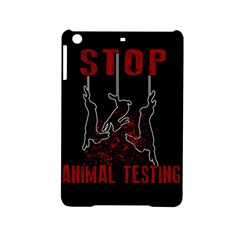Stop Animal Testing   Rabbits  Ipad Mini 2 Hardshell Cases by Valentinaart