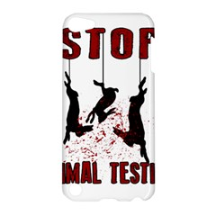 Stop Animal Testing   Rabbits  Apple Ipod Touch 5 Hardshell Case by Valentinaart