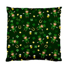 St Patricks Day Pattern Standard Cushion Case (one Side) by Valentinaart