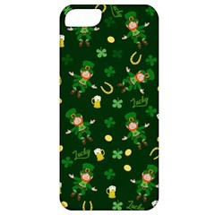 St Patricks Day Pattern Apple Iphone 5 Classic Hardshell Case by Valentinaart