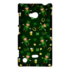 St Patricks Day Pattern Nokia Lumia 720 by Valentinaart
