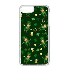 St Patricks Day Pattern Apple Iphone 8 Plus Seamless Case (white)