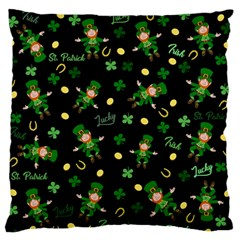 St Patricks Day Pattern Standard Flano Cushion Case (two Sides) by Valentinaart