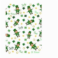 St Patricks Day Pattern Large Garden Flag (two Sides) by Valentinaart
