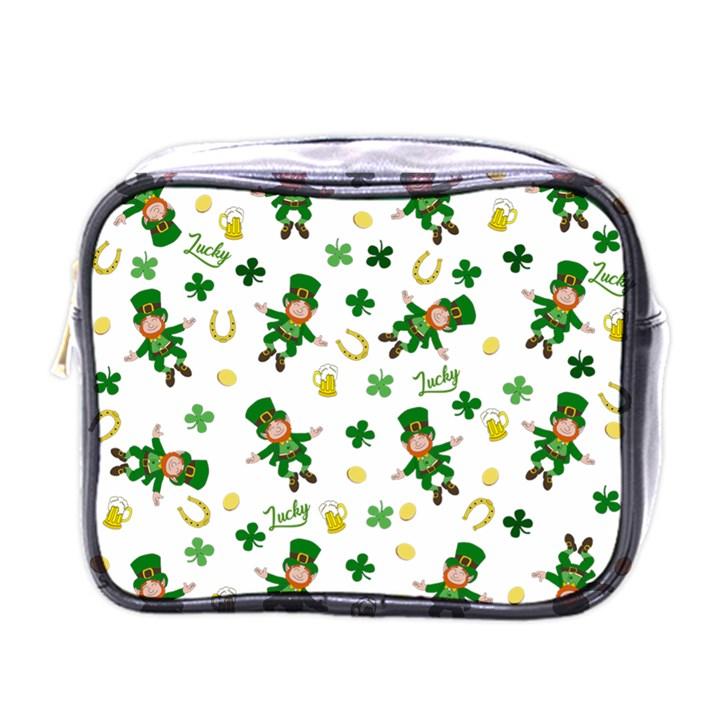 St Patricks day pattern Mini Toiletries Bags