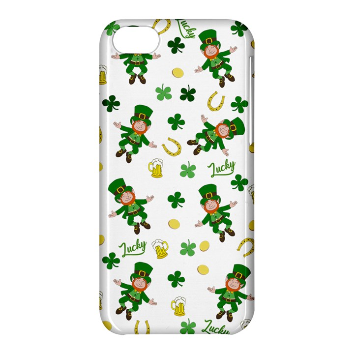 St Patricks day pattern Apple iPhone 5C Hardshell Case