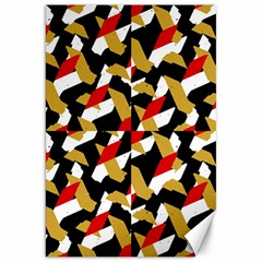 Colorful Abstract Pattern Canvas 20  X 30   by dflcprints