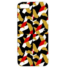 Colorful Abstract Pattern Apple Iphone 5 Hardshell Case With Stand by dflcprints