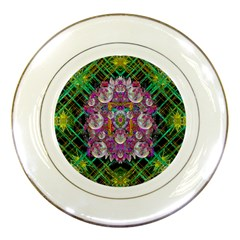 The Most Beautiful Planet Is Earth On The Sky Porcelain Plates by pepitasart