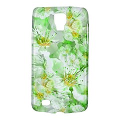 Light Floral Collage  Galaxy S4 Active by dflcprints