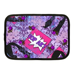 Purlpe Retro Pop Netbook Case (medium)  by snowwhitegirl