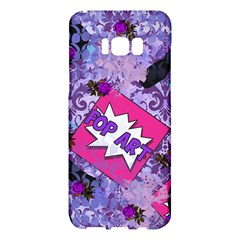 Purlpe Retro Pop Samsung Galaxy S8 Plus Hardshell Case  by snowwhitegirl